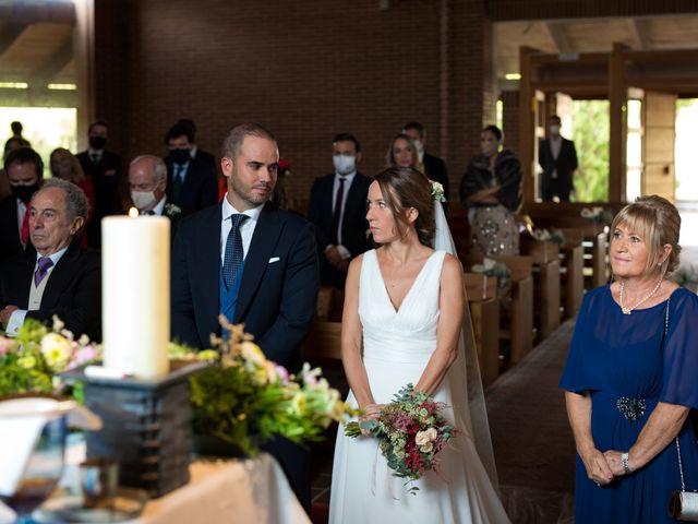 La boda de Kike y Silvia en Hoyo De Manzanares, Madrid 18
