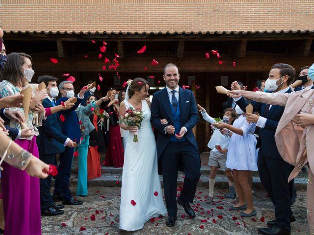 La boda de Kike y Silvia en Hoyo De Manzanares, Madrid 24