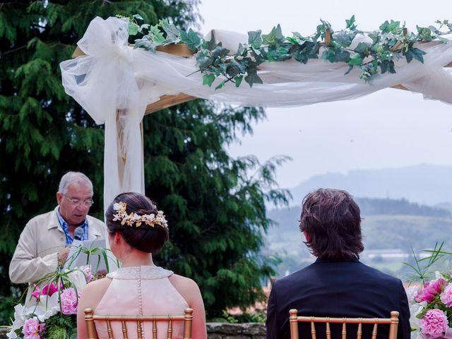 La boda de Pablo y Paula en Mijares, Cantabria 12