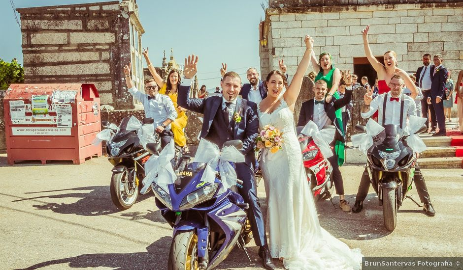 La boda de Santi y Yessi en Tui, Pontevedra