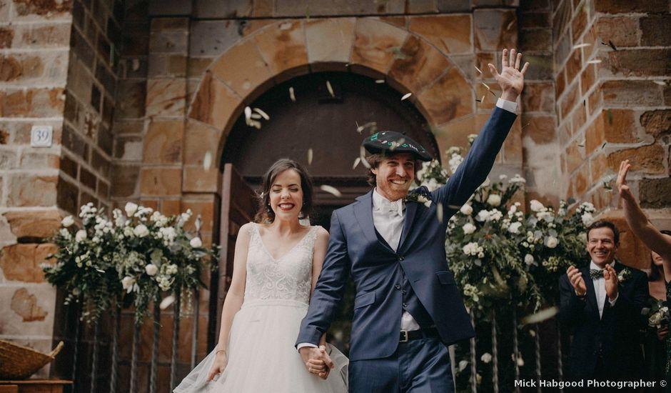 La boda de Ricardo y Ana Maria en Gordexola, Vizcaya