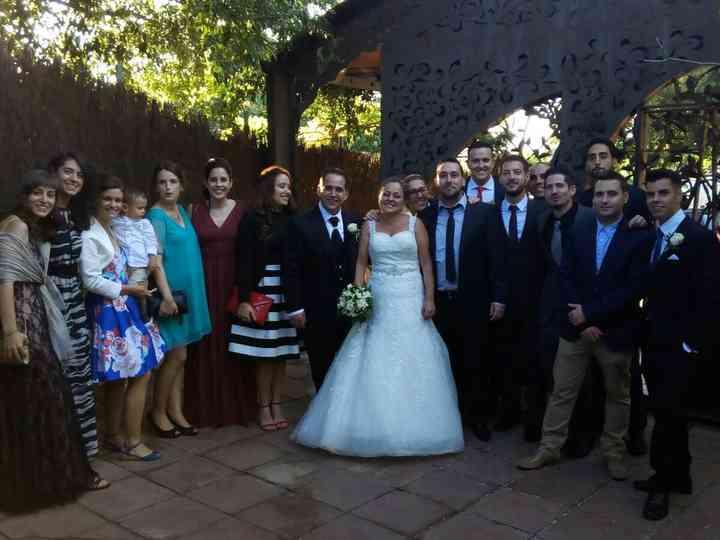 La boda de Lupe  y Rafa
