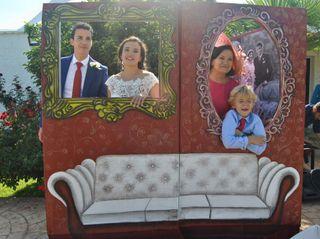 La boda de Estrella de las Lagrimas Rojo Perez y Luis Miguel Romero Estevez 2
