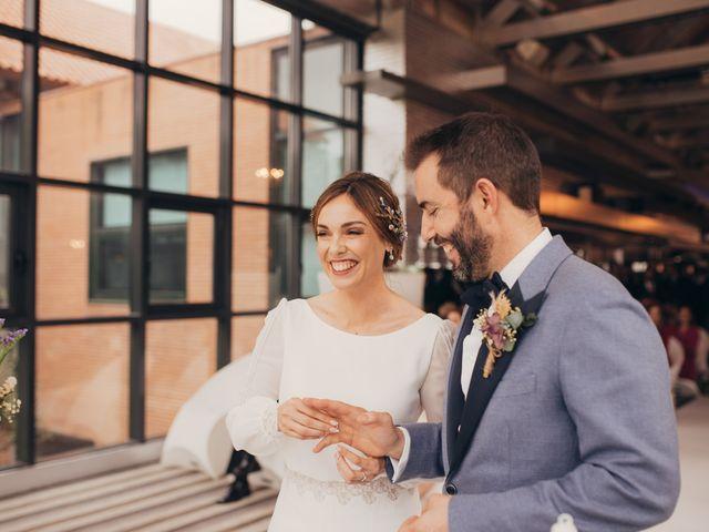 La boda de Bruno y María José en Algete, Madrid 35