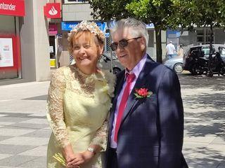 La boda de Joëlle y Eduardo