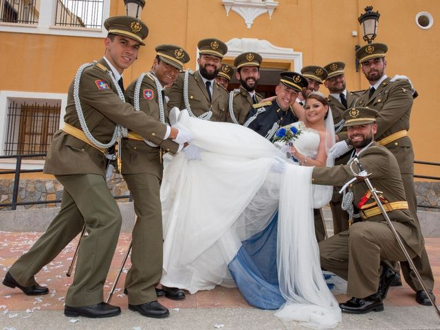 La boda de Javi y Tanya en Orihuela, Alicante 1
