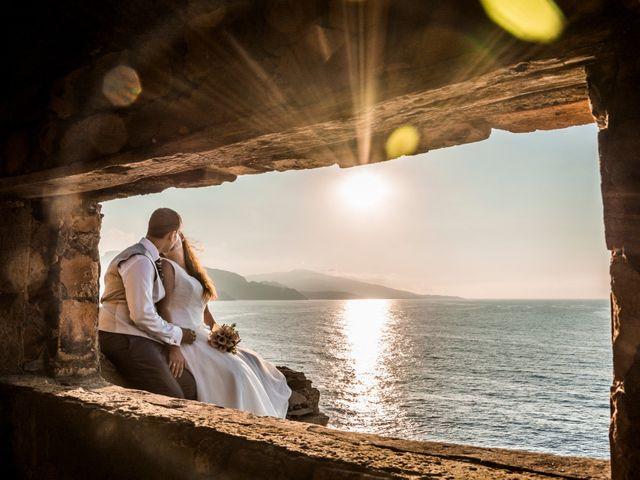 La boda de Naiara y Tomás