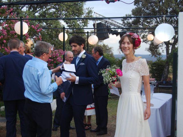 La boda de Carlos  y Andrea  en Serradilla, Cáceres 21