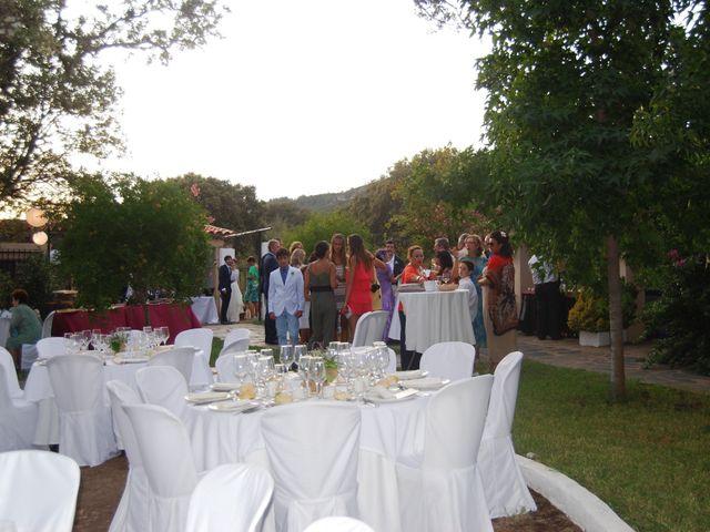 La boda de Carlos  y Andrea  en Serradilla, Cáceres 25