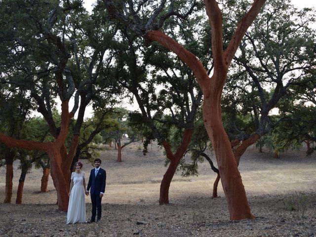 La boda de Carlos  y Andrea  en Serradilla, Cáceres 35