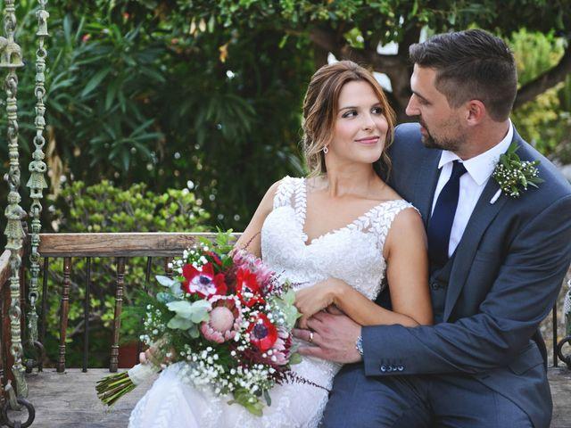 La boda de Sabrina y Yves