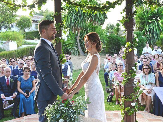 La boda de Yves y Sabrina en Alhaurin De La Torre, Málaga 21