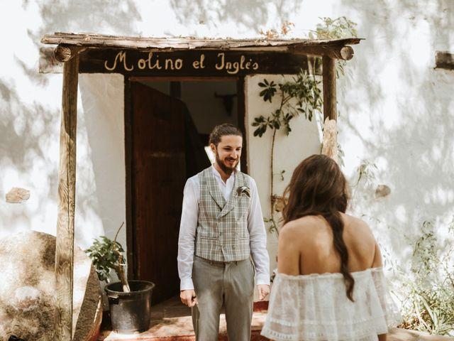 La boda de Alejandro y Blanca en Jimera De Libar, Málaga 10