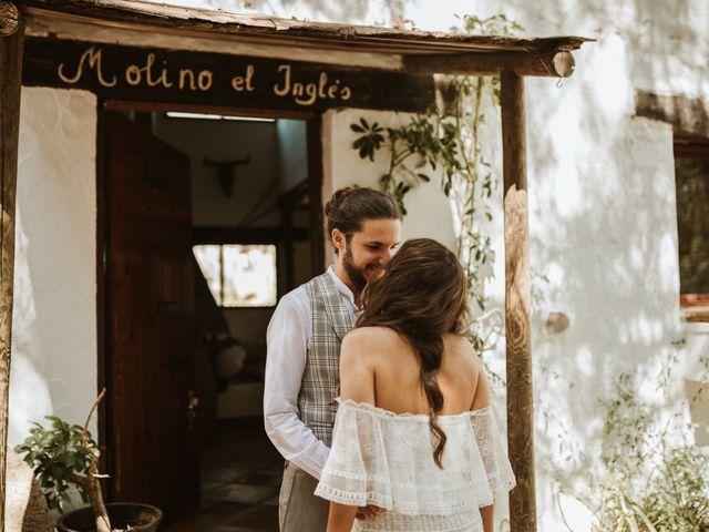 La boda de Alejandro y Blanca en Jimera De Libar, Málaga 11