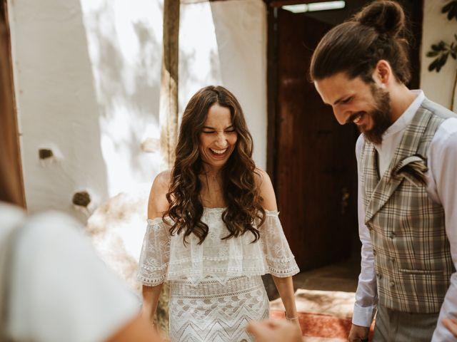 La boda de Alejandro y Blanca en Jimera De Libar, Málaga 12