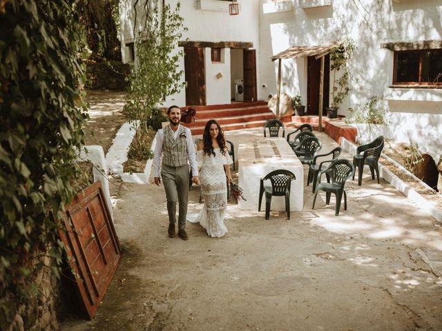 La boda de Alejandro y Blanca en Jimera De Libar, Málaga 13