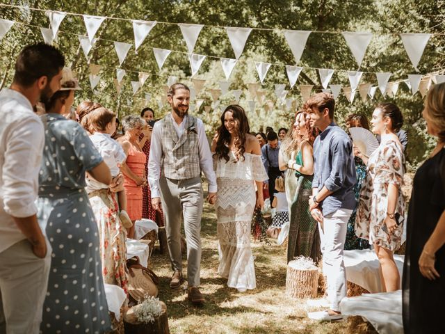 La boda de Alejandro y Blanca en Jimera De Libar, Málaga 16