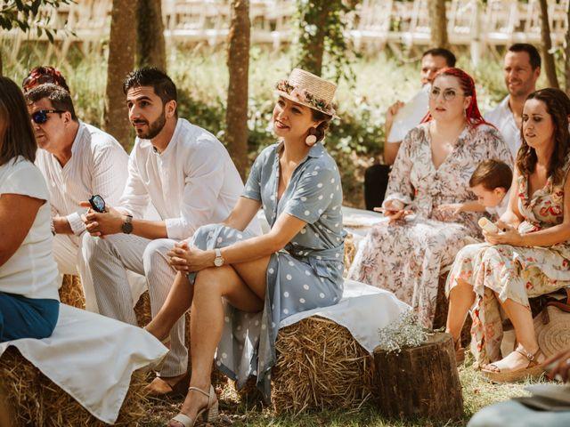 La boda de Alejandro y Blanca en Jimera De Libar, Málaga 18