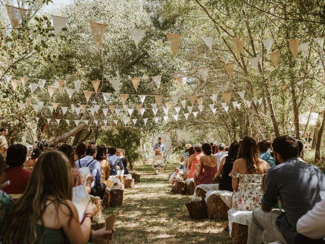 La boda de Alejandro y Blanca en Jimera De Libar, Málaga 21