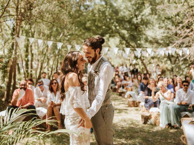 La boda de Alejandro y Blanca en Jimera De Libar, Málaga 28