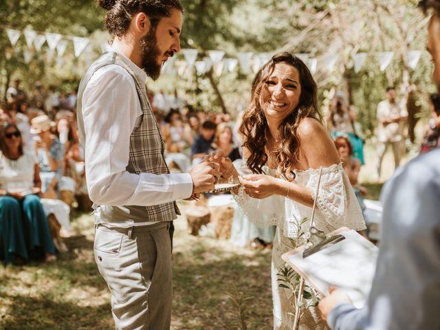 La boda de Alejandro y Blanca en Jimera De Libar, Málaga 33
