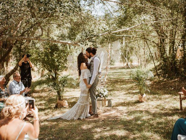 La boda de Alejandro y Blanca en Jimera De Libar, Málaga 35