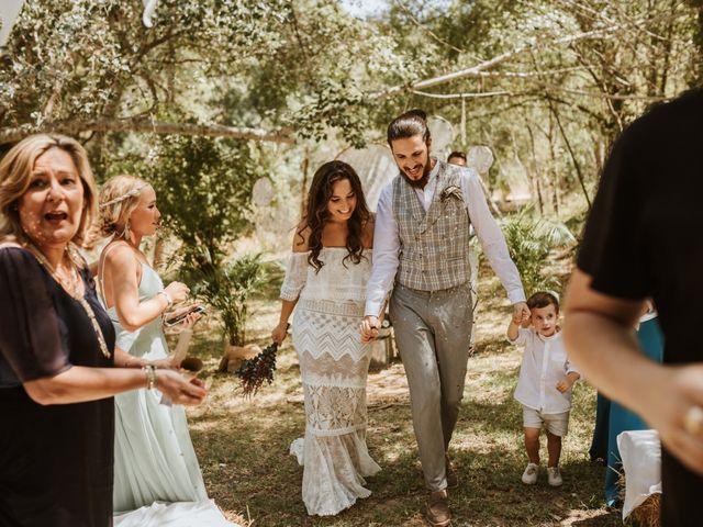 La boda de Alejandro y Blanca en Jimera De Libar, Málaga 36