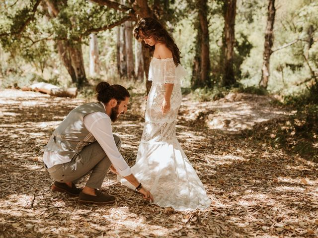 La boda de Alejandro y Blanca en Jimera De Libar, Málaga 43