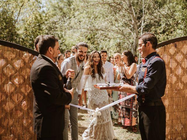 La boda de Alejandro y Blanca en Jimera De Libar, Málaga 51