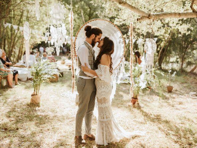 La boda de Alejandro y Blanca en Jimera De Libar, Málaga 55