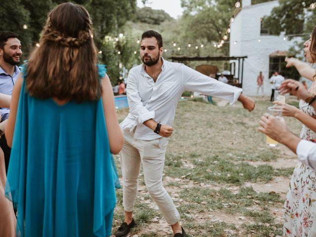 La boda de Alejandro y Blanca en Jimera De Libar, Málaga 79