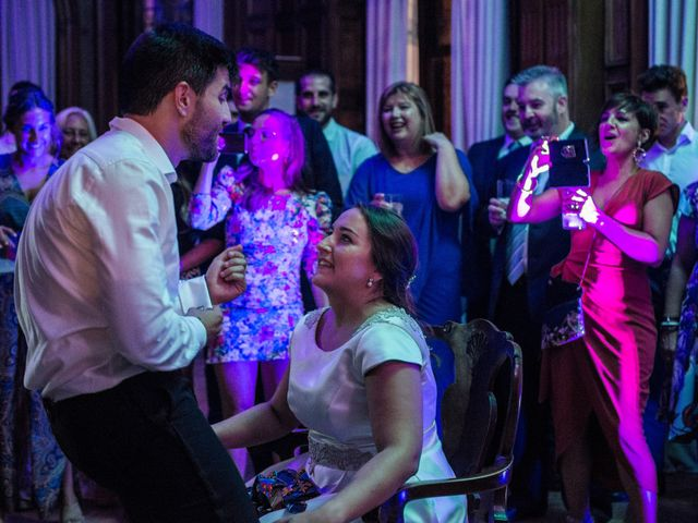 La boda de Víctor y Sandra en Getxo, Vizcaya 36