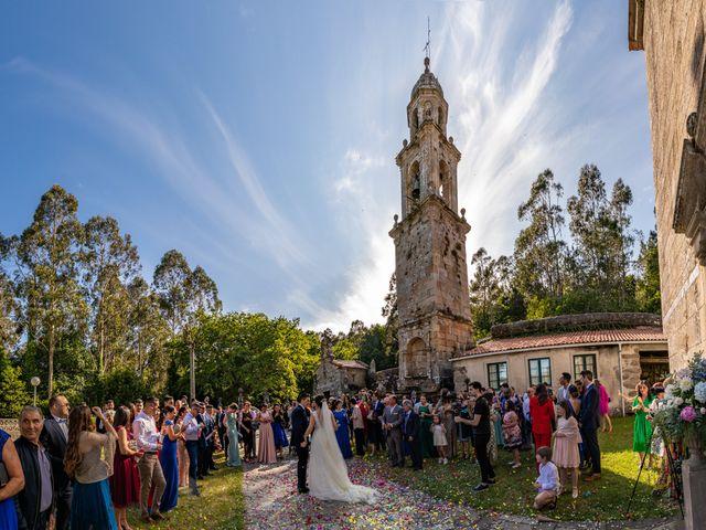 La boda de Jonatan y Tania en Outes, A Coruña 41