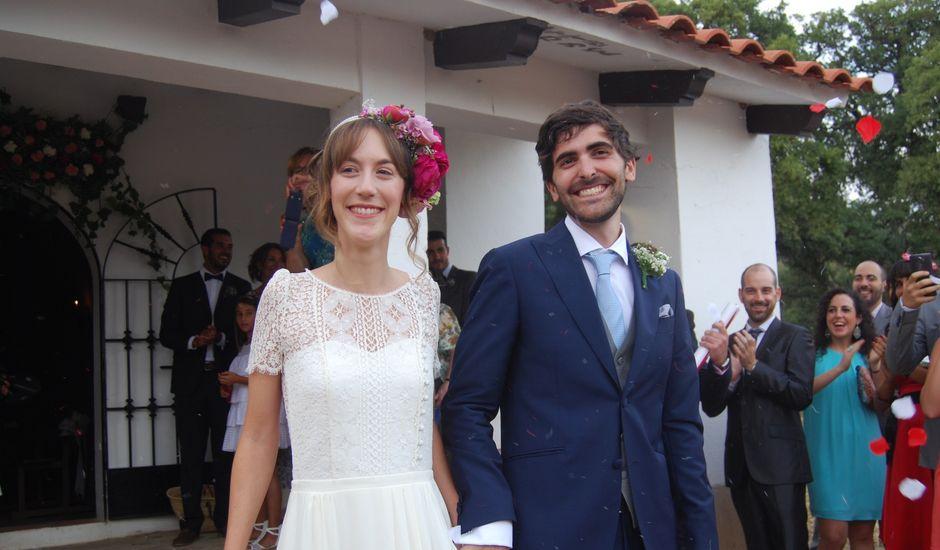 La boda de Carlos  y Andrea  en Serradilla, Cáceres