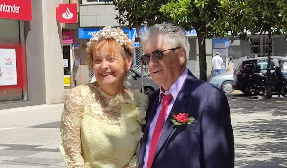 La boda de Eduardo y Joëlle en Sada, A Coruña