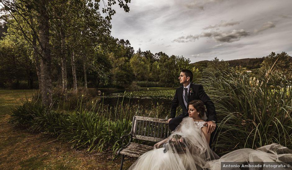 La boda de Jonatan y Tania en Outes, A Coruña
