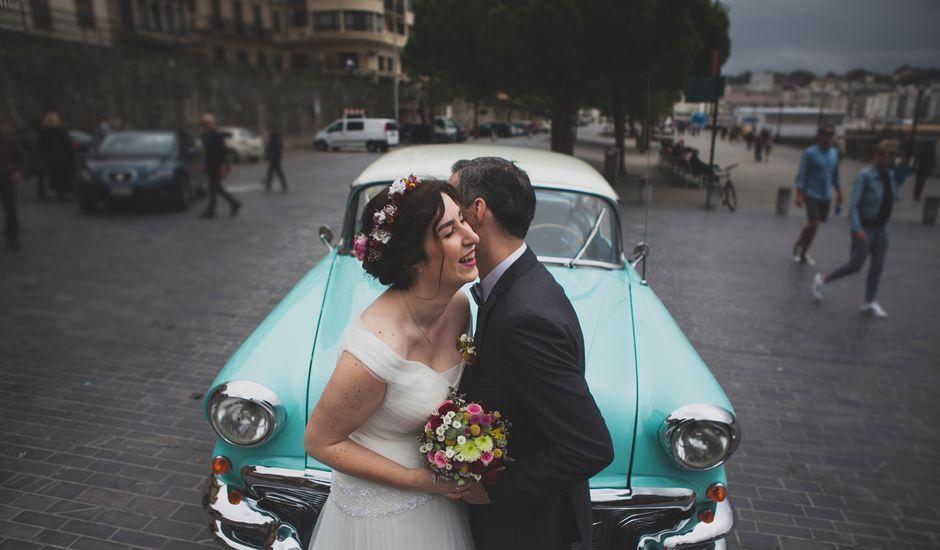 La boda de Mikel y Cristina en Donostia-San Sebastián, Guipúzcoa