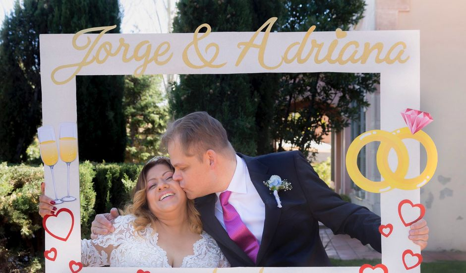 La boda de Jordi  y Adriana  en Sant Feliu De Llobregat, Barcelona