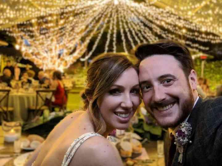 La boda de Fátima y Scott