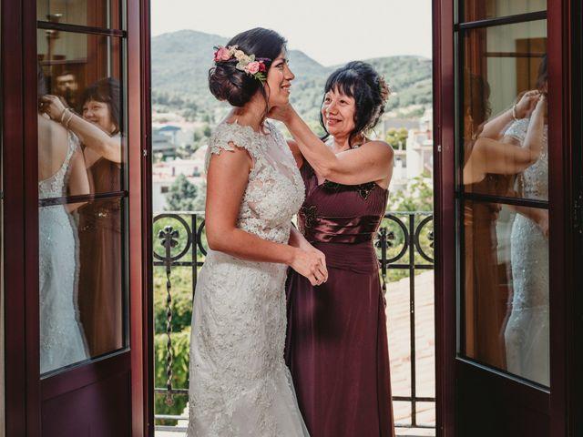 La boda de Miguel y Mireille en Caldes De Montbui, Barcelona 14