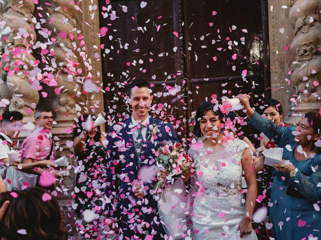 La boda de Miguel y Mireille en Caldes De Montbui, Barcelona 27