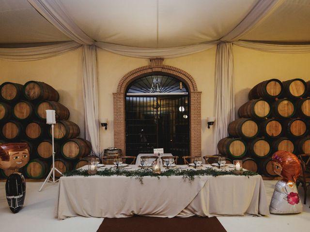 La boda de Eligio y Marta en Zafra, Badajoz 2