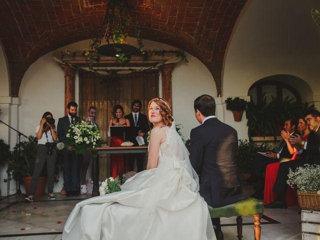 La boda de Eligio y Marta en Zafra, Badajoz 33