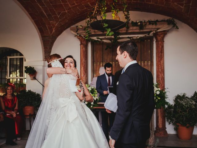 La boda de Eligio y Marta en Zafra, Badajoz 35