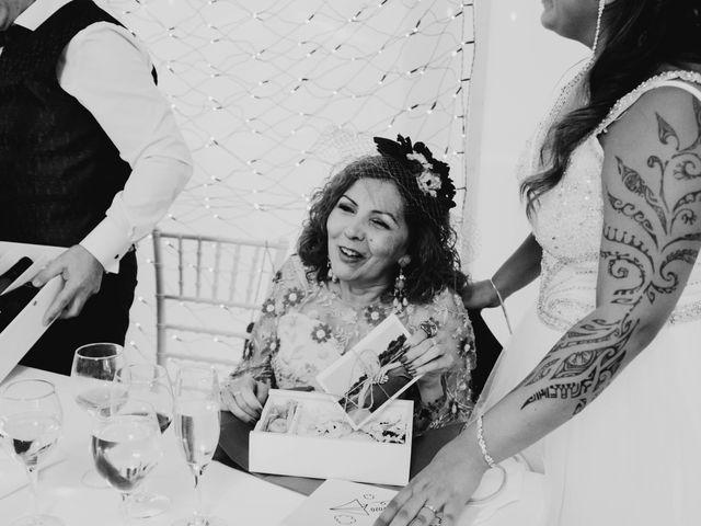 La boda de Javi y Fátima en Caldes De Montbui, Barcelona 47