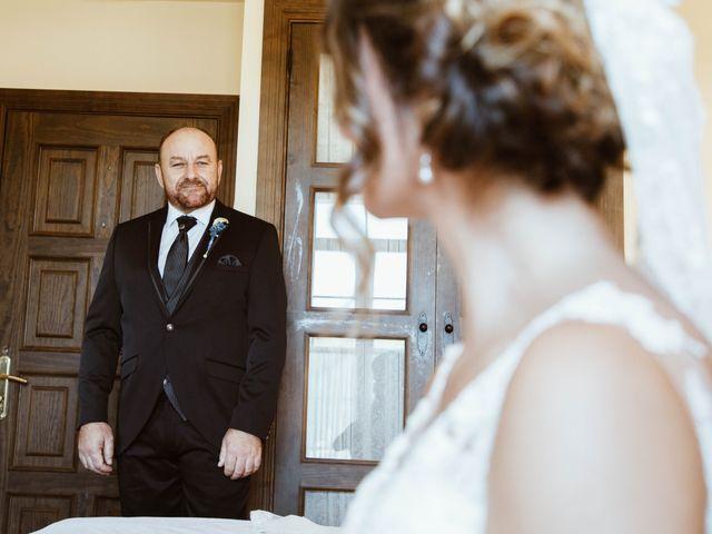 La boda de César y Lorena en Valdilecha, Madrid 28