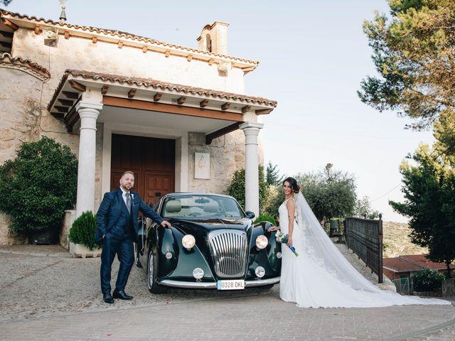 La boda de César y Lorena en Valdilecha, Madrid 43