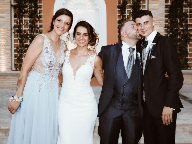 La boda de César y Lorena en Valdilecha, Madrid 52