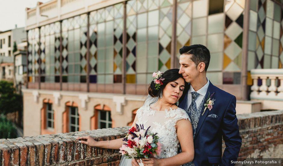 La boda de Miguel y Mireille en Caldes De Montbui, Barcelona