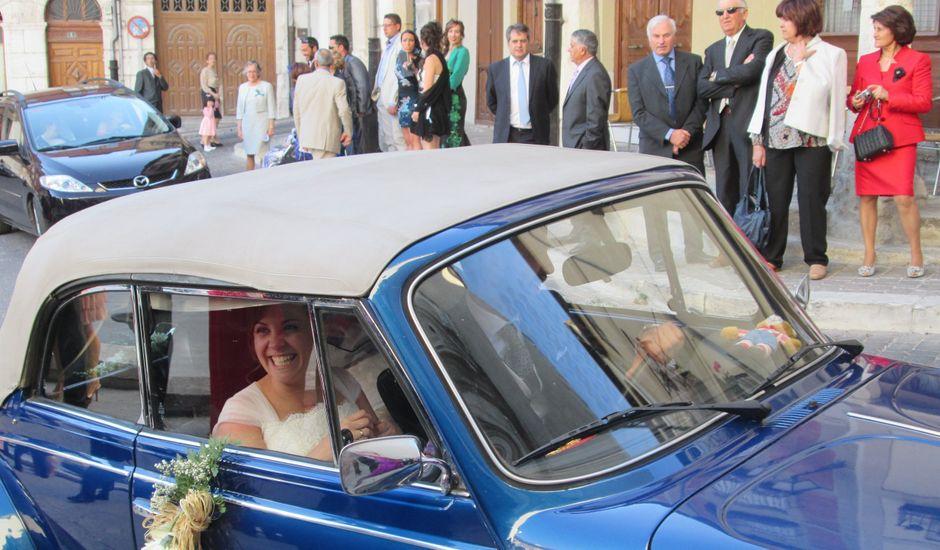 La boda de María y Félix en Cuellar, Segovia
